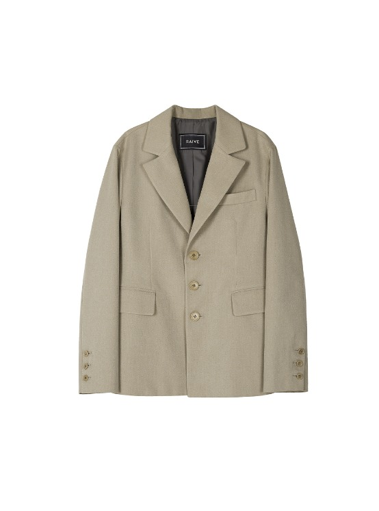 Single Jacket in Beige VW8AJ0200