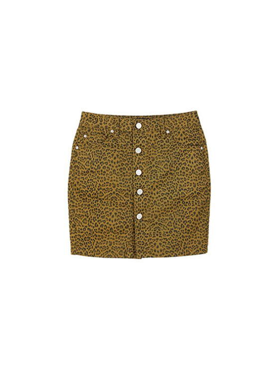 Leopard High Waist Skirt in Leopard VW9SS0100